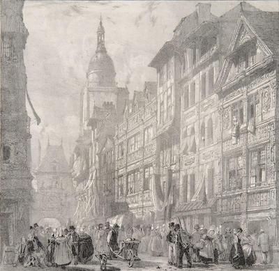 Artist: Richard Parkes Bonington, British, 1802-1828