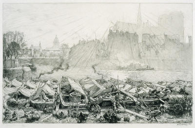 Artist: Auguste Lepère, French, 1849-1918