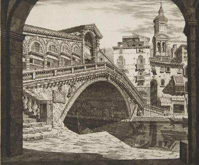 Shadows of Venice; John Taylor Arms; American, 1887-1953; 1994.97