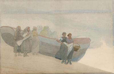 Scotch Mist; Winslow Homer; American, 1836-1910; 1950.67