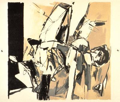 Artist: George Bunker, American, 1923-1991