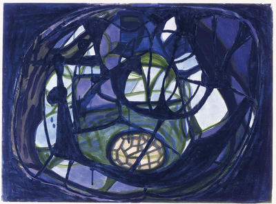 Artist: Terry Winters, American, born 1949