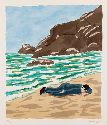 Artist: Richard Bosman, American, born India, 1944