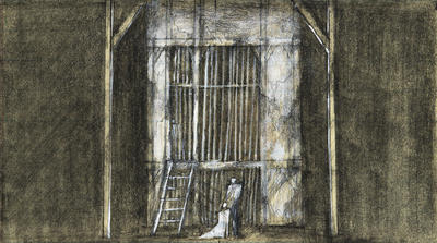 Scene design for Faust; Ming Cho Lee; American, born China, 1930-2020; TL1999.157.1
