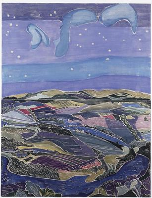 Artist: Aline Feldman, American, born 1928