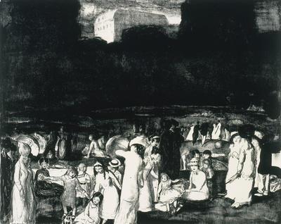 Artist: George Bellows, American, 1882-1925