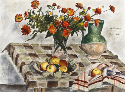 Artist: Andre Dunoyer de Segonzac, French, 1884-1974