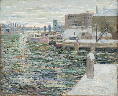 Artist: Ernest Lawson, American, born Canada, 1873-1939