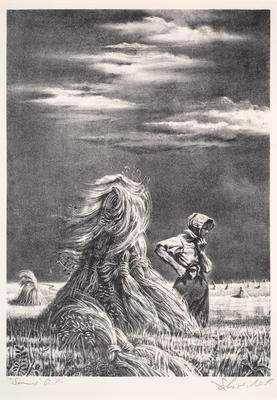 Artist: Georges Schreiber, American, born Belgium, 1904-1977