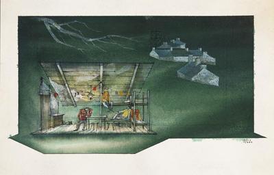 Artist: Ming Cho Lee, American, born China, 1930-2020