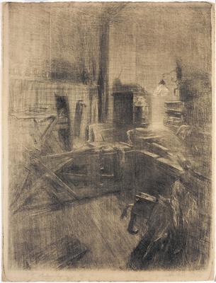 Artist: Albert Belleroche, French, 1864-1944
