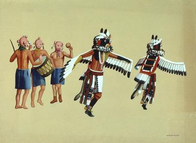 Artist: Waldo Mootzka, Native American, Hopi, 1903-1941