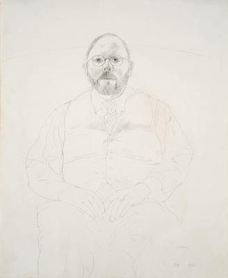 Henry; David Hockney; British, born 1937; 2005.9