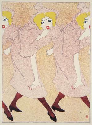 Artist: Réne Georges Hermann-Paul, French, 1864-1940