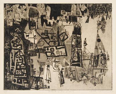 Artist: Ynez Johnston, American, 1920-2019
