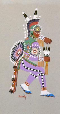 Artist: Jack Hokeah, Native American, Kiowa, 1901-1969