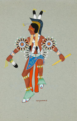 Artist: Riley Sunrise, Native American, Hopi, 1914-2006