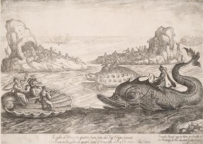 Artist: Remigio Cantagallina, Italian, ca. 1582-1656