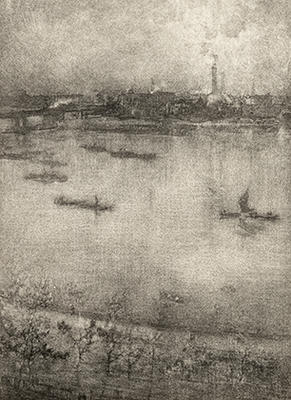 Artist: James Abbott McNeill Whistler, American, 1834-1903