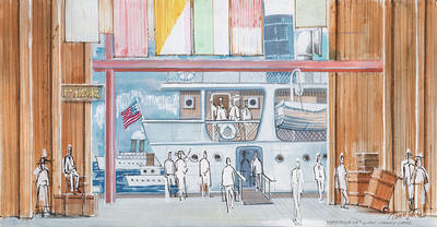 Artist: Tom John, American, born 1931