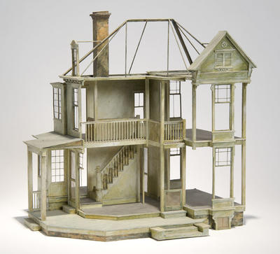 Maquette for house in Angel; Ming Cho Lee; American, born China, 1930-2020; TL1999.155