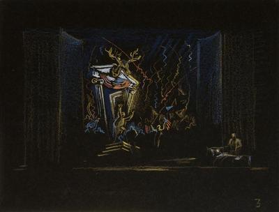 Artist: Jo Mielziner, American, 1901-1976