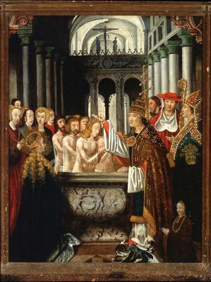 Artist: Master of the Legend of Saint Ursula, Flemish, active ca. 1470-1490