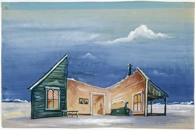 Artist: Oliver Smith, American, 1918-1994
