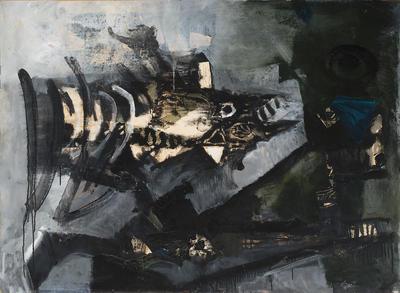Poisson dans l'eau (Fish in Water); Antoni Clavé; French, born Spain, 1913-2005; 1958.2
