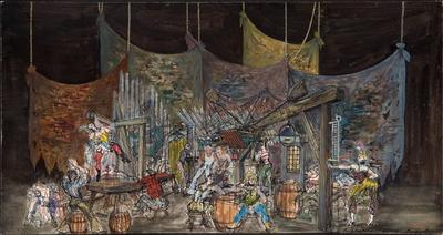 Artist: Rouben TerArutunian, American, born Russia (now Georgia), 1920-1992
