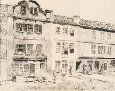 Catfish Row, Charleston; Alson Clark; American, 1876-1949; 1959.9