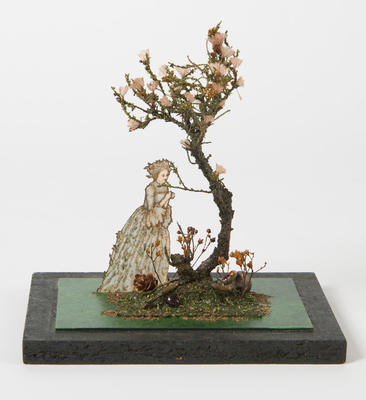 Maquette element for Mother's Tree in Into the Woods