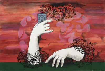 Artist: Dorothée Zippel, German, born 1944