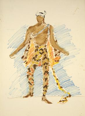 Artist: Boris Aronson, American, born Russia (now Ukraine), 1898-1980