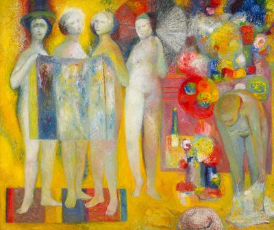 Artist: Edward Giobbi, American, born 1926