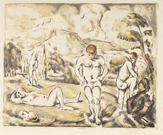 The Bathers; Paul Cézanne; French, 1839-1906; 1960.6