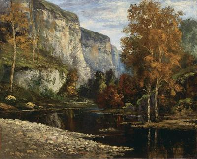 Artist: Gustave Courbet, French, 1819-1877