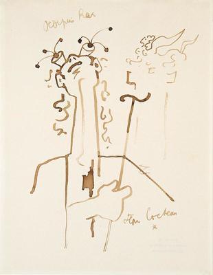 Artist: Jean Cocteau, French, 1889-1963