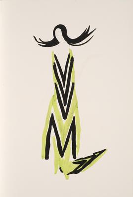 Design for Petit Parigot from Tableaux Vivants
