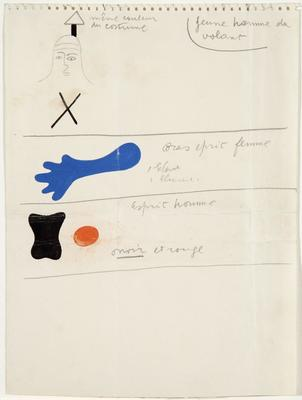 Costume details for Jeux d'Enfants (Children's Games); Joan Miró; Spanish, 1893-1983; TL2001.96.1