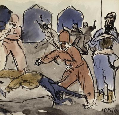 Artist: Max Pechstein, German, 1881-1955