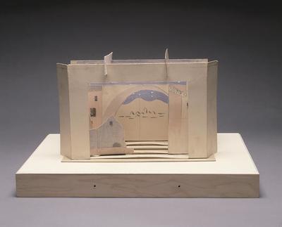 Maquette for Le Tricorne (The Three Cornered Hat); Pablo Picasso; Spanish, 1881-1973; TL2001.105
