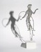 Shadow puppet of an Artist Holding a Palette